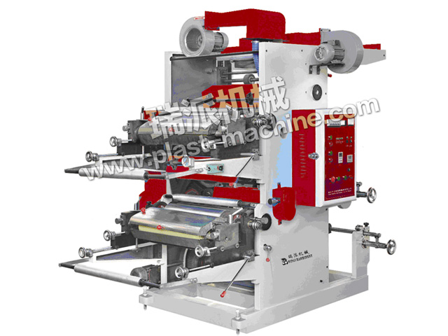 2 COLOR FLEXIBLE PRINTING MACHINE